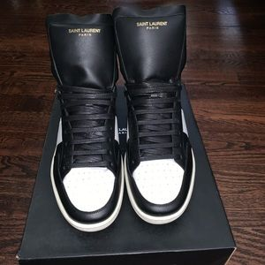 Saint Laurent Court Sneakers